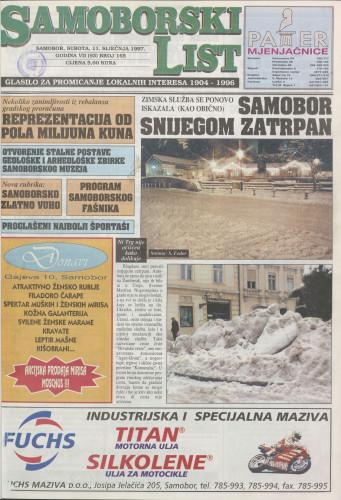 Samoborski list 1997